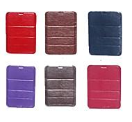 modello tasca pu custodia in pelle con la penna per tablet da 7 pollici (colori assortiti)