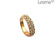 Lureme®Diamond Fully Studded Ring