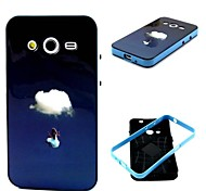 Clouds Pattern Back Case Cover for Samsung Galaxy Core 2 G3556D/G355H
