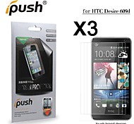 High Transparency Matte LCD Screen Protector for HTC Desire 609d (3 Pieces)