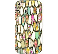 Colorful Diamond Pattern Back Case for iPhone 4/4S