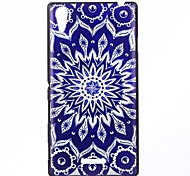 Sunflower Pattern PC Hard Back Case for Sony Xperia T3
