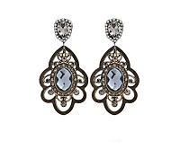 European Diamond Earrings