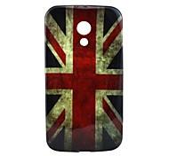 British Flag Pattern TPU Soft Case for Motorola MOTO G2