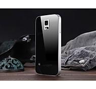 luphie alumínio armação de metal com acrílico de volta caso para samsung galaxy s5 i9600 (cores sortidas)