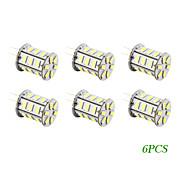 6 Stück LED-Glühlampen G4 2 W 140 LM 2500-3500 K 24 SMD 5730 Warmes Weiß AC 12 V