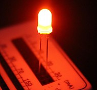 5mm Orange Light Emitting Diode LED Lamps (50 Pieces a Pack)