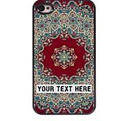 personalisierte-Tasche - Blumen-Form-Design Metallkasten für iphone 4 / 4s