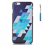 Retro Geometric Figure Pattern PC Hard Back Cover Case for iPhone 6
