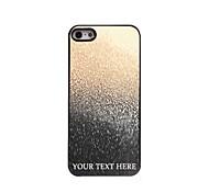 персонализированные телефон случае - капля металлической конструкции корпуса вода для iPhone 5/5 секунд