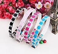 Dog Collars Adjustable/Retractable Black / Blue / Rose PU Leather