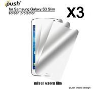hohe Transparenz Spiegel lcd-Schirmschutz für Samsung-Galaxie s3 schlank / g3812 (3 Stück)