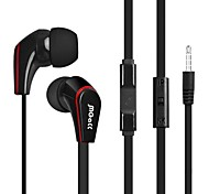 BeBonCool Stereo Bass  3.5mm Volume Controllable In-ear  Headset with Microphone for iPhone/iPad/Ipod