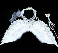 Shiny Gorgeous Wings Feather Kids' Halloween Party Accessories