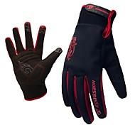 WEST BIKING® Men's Cycling Gloves/Winter Gloves Warm Fleece Thermal Waterproof Windstopper Bike Bicycle