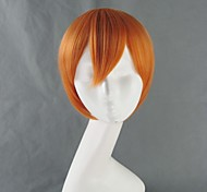 Girls and Panzer Miho Nishizumi Orange Short Cosplay Wig