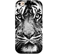 Tigermuster zurück Fall für iPhone 4 / 4s