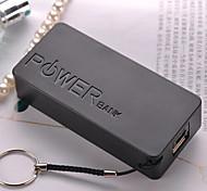 5600mAh usb 5v 1a emergência universal carregador de bateria externa para iphone6 / samsung Nota4 / HTC e outros dispositivos móveis