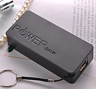 universele 5600mAh usb 5v 1a hulpdiensten externe batterij oplader voor iphone6 / samsung note4 / HTC en andere mobiele apparaten
