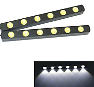 Phares de jour ( 6000K , Feux ) LED