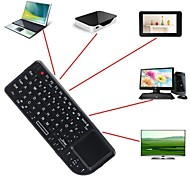 a8 2.4ghz mini-teclado wireless mouse touchpad luz de fundo para pc smart tv samsung