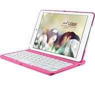 couleur pc boîtier en tablette clavier bluetooth 360 rotation et veille automatique et se réveiller pour ipad 2/3/4 (couleurs assorties)