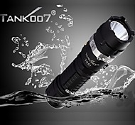 Tank007® TR01 Rechargeable 5-Mode Cree XP-G R5 High Power LED Camping Flashlight (420LM,1x18650, Black)