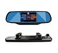 """gt Sicht 5.0 """"berühren android gps-Navigation bluetooth wifi 1080p Dual Lens Rückspiegel Schlagauto dvr"""