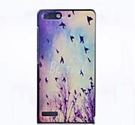Be Free Pattern PC Hard Case for Huawei G6