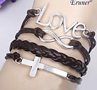 amour bracelet de tissage infinie miss