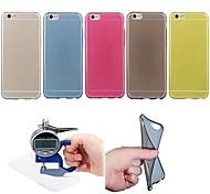 copertura ultrasottile trasparente TPU custodia protettiva per iPhone 6 (colori assortiti)