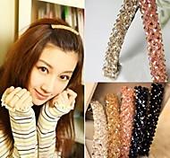 1Pc Elegant Crystal Hair Clip(Random Color)