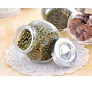 selar caixas de vidro multifuncional material diy armazenamento (cor aleatória)