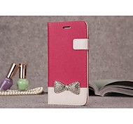 Leather Fashion Set Auger for iPhone 6 (Assorted Colors)