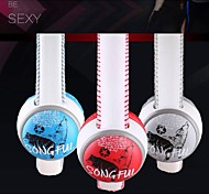 SONGFUL i35 HiFi Headphone 3.5mm Over Ear with Mic for Hippop& Rock