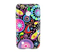 4 Inch Circle Pattern TPU Soft Case Back Cover for Nokia Lumia 530