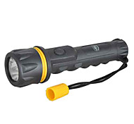 TwoBoys 502  Single-Mode 3x Cree LED LED Flashlight(100LM, 2xAA, Black)