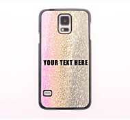 персонализированные телефон случае - три цвета капли металлического корпуса конструкции воды для Samsung Galaxy S5