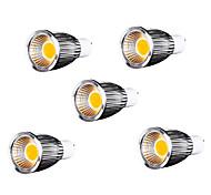 9W GU10 LED Spot Lampen MR16 9 COB 700-750 lm Warmes Weiß AC 85-265 V 5 Stück
