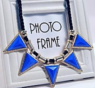 Fashion Triangle Alloy Necklace/Beautiful Alloy Necklace