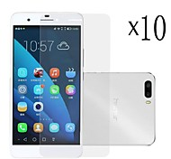 [10-Pack]Professional High Transparency LCD Crystal Clear Screen Protector with Cleaning Cloth for Huawei Honor 6 Plus
