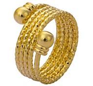 tina-simulação de moda anel de ouro