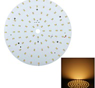 Luces de Techo Decorativa YouOKLight Luces Empotradas 18 W 92 SMD 2835 1750 LM Blanco Cálido V