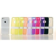 Solid Color TPU Soft Case for iPhone 5/5c/5s (Assorted Colors)