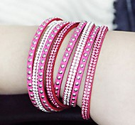 European Style Fashion Wild Long Leather Bracelet(More Colors)