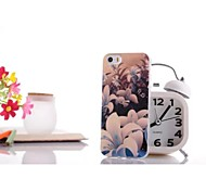 Glare Lily Pattern TPU Soft Case for iPhone 6