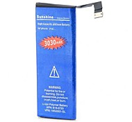 High Capacity 3.7V 3030mAh Dual-cell Li-ion Battery for Iphone 5C  (Blue)
