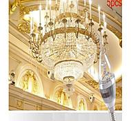 3W E14 LED Candle Lights CA35 3 SMD 250-300 lm Cool White AC 220-240 V 5 pcs
