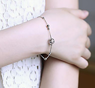 Valentine'S Day Silver Bracelet With Female Fashion Temperament Act The Role Ofing Is Tasted Sweet