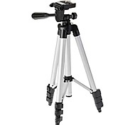 ismartdigi iR-130-SL 4-Section Camera Tripod (Silver+Black)